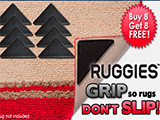Ruggies Reusable Rug Grippers