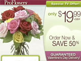 ProFlowers Valentine's Day Special Offer