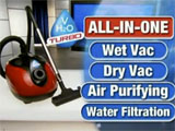 H2O Vac Turbo Wet/Dry Vacuum Cleaner