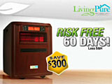Living Pure Pro Series 4-in-1 Heater