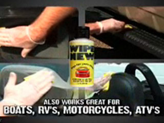 Wipe New Car Surface Protectant