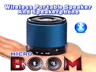 MicroBoom Bluetooth Speaker & Speakerphone