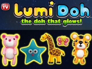 LumiDoh – Play with Dough that Glows!