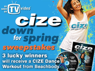 CIZE Down for Spring Sweepstakes