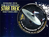 Star Trek Half Dollar