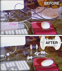 Before and after AppleCore