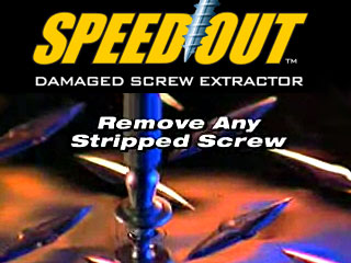 SpeedOut Damaged Screw and Bolt Extractor