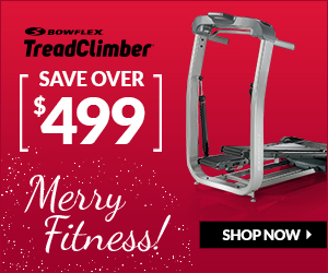 Bowflex TreadClimber 2014 Holiday Savings