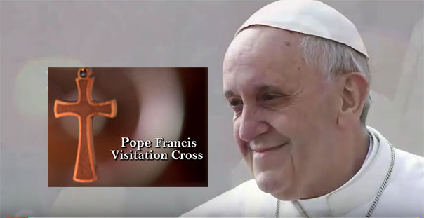 Pope Francis Visitation CRoss