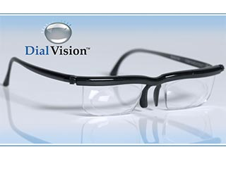 Dial Vision Adjustable Eyeglasses