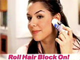 HairBlock Instant Roll-On Hair Remover