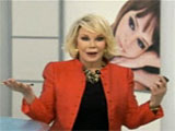 Joan Rivers' Great Hair Day