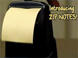 Zip Notes Sticky Notes Dispenser