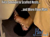 Heel Dock Car Floor Mat Protector
