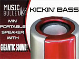 Music Bullet Mini Portable Speaker