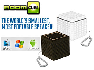 Boom Cube Portable Keychain Speaker