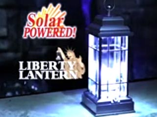 Liberty Lantern Solar Powered LED Lantern