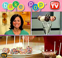 Bake Pop As Seen on TV Cake-on-a-Stick