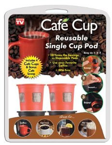 Cafe Cup Reusable K-Cup