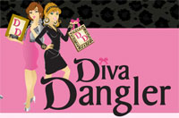 Diva Dangler Earring Frame As Seen on TV