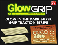 Glow Grip glow-in-the-dark adhesive traction strips