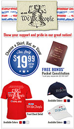 We Are We The People Patriotic Shirts and Hats