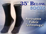 35º Below Socks