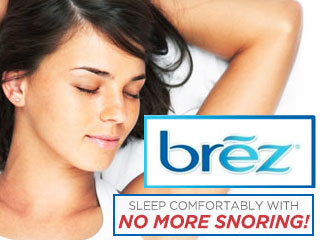 Brez Anti-Snoring Breathing Aid