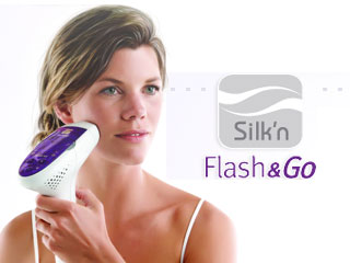 Flash & Go Light Pulse Hair Removal Device