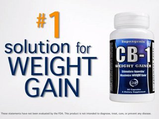 CB-1 Weight Gainer Maximum Strength by Supragenix