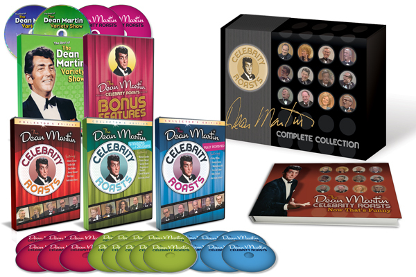 Dean Martin Celebrity Roasts Complete DVD Collection