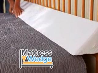 Mattress Wedge Fits Any Size Bed Storage Pockets As