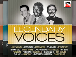 Legendary Voices CD Collection from Time Life