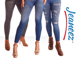 Jeaneez Denim-look Leggings