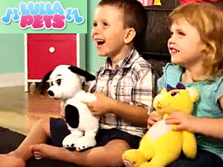 Lulla Pets Musical Cuddly Toys With Mp3 Player
