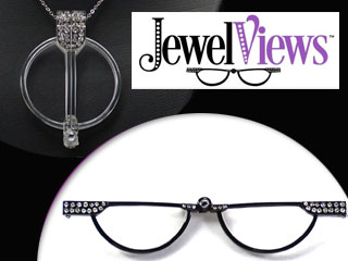 Jewel Views Reading Glasses