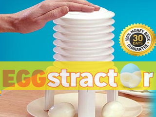 Eggstractor Hard Boiled Egg Peeler