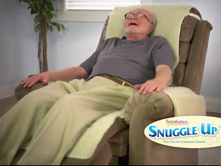 Snuggle Up Fleece Recliner Cover
