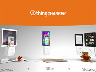 ThingCHARGER Cordless Wall Charger