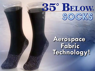 35 Below Socks Keep Your Feet Warm In The Cold As Seen