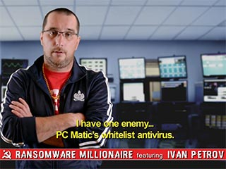 PC Matic presents Ransomware Millionaire featuring Ivan Petrov