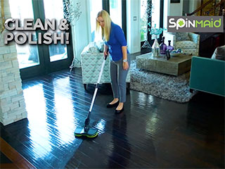 SpinMaid Floor Cleaner & Polisher