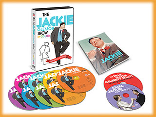 The Jackie Gleason Show in Color DVD Collection from Time Life