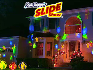 Star Shower Slide Show Holiday Laser Light