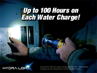 HydraLight Water Powered Flashlight