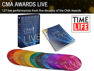 CMA Awards Live DVD Collection from Time Life