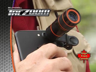 Tac Zoom Telephoto Lens for Any Phone
