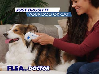 Flea Doctor Electronic Comb for Dogs and Cats