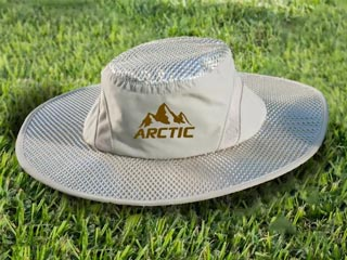 Arctic Hat — Evaporative Cooling with UV Protection