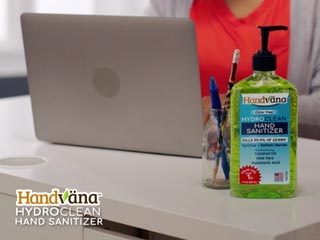HydroClean Hand Sanitizer Gel and Face Mask Offer